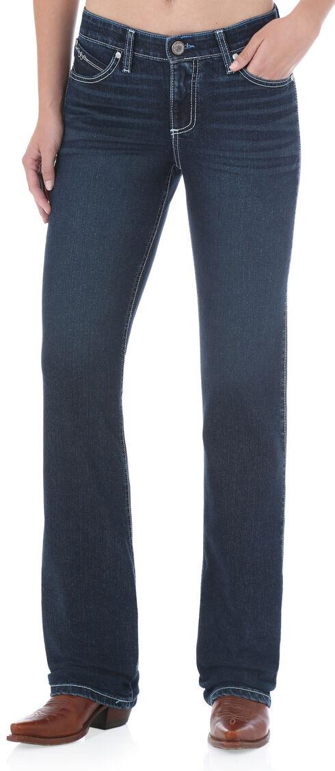 Wrangler Women's QBaby Cool Vantage Jeans, Denim, hi-res