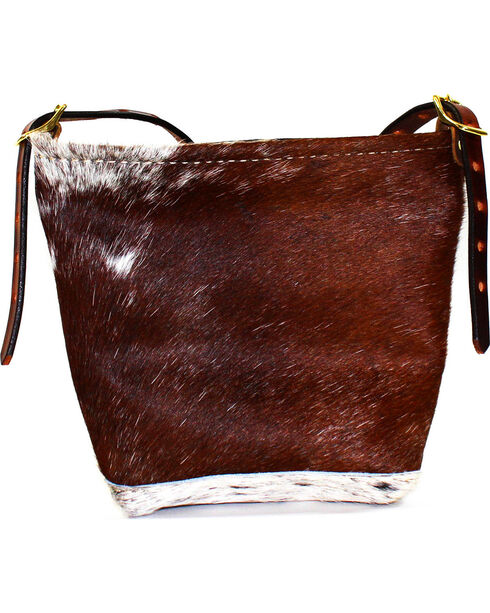 SouthLife Supply Women's Cowhide Mini Cross Body Bag, Multi, hi-res