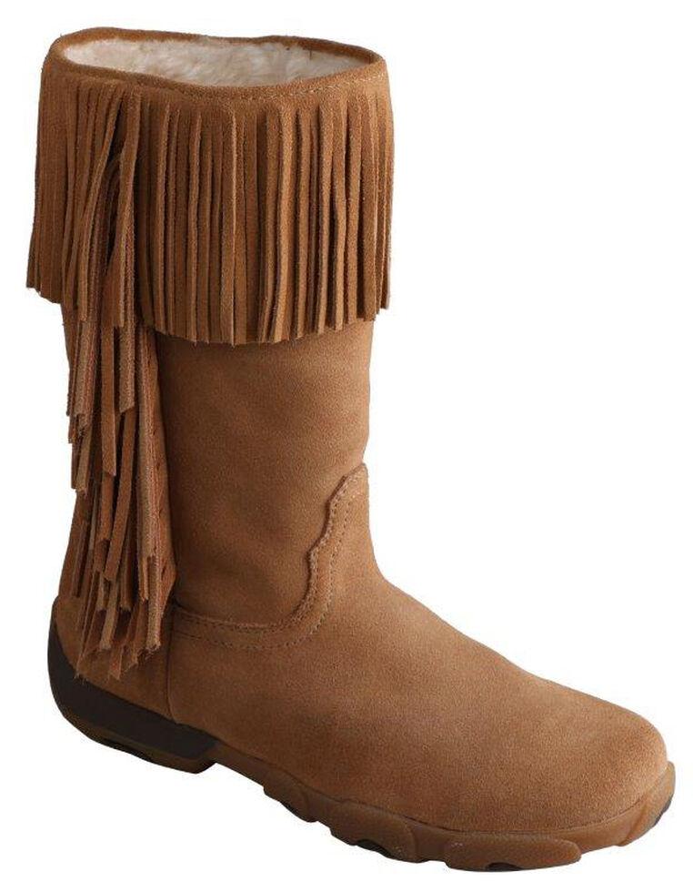 Twisted X Women's Moc Fringe Boots - Round Toe, , hi-res