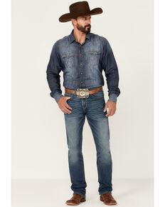 Ariat Men's M7 Bayou Medium Wash Stretch Slim Straight Jeans , Blue, hi-res