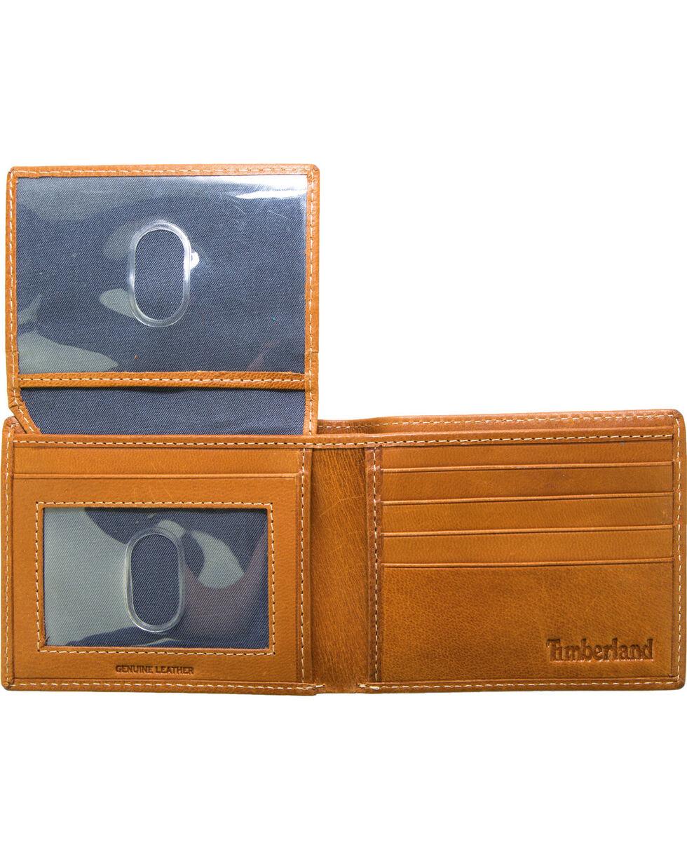 Timberland Men's Cloudy Passcase Wallet , Tan, hi-res