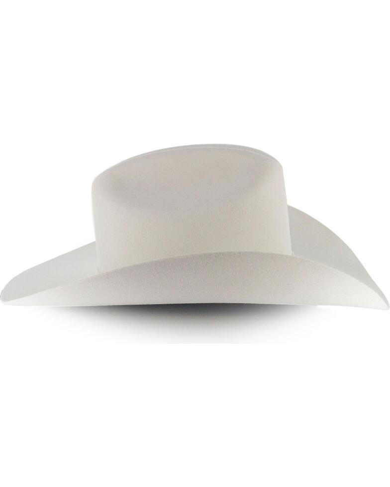 Stetson Men's 3X Wool Felt Cowboy Hat, White, hi-res