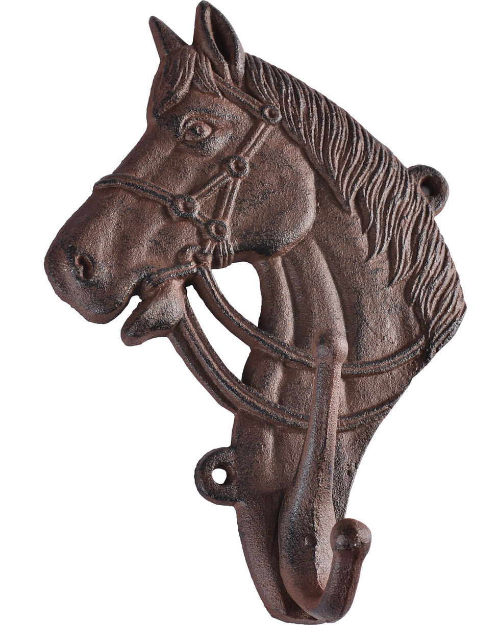 Giftcraft Iron Horse Head Wall Decor , No Color, hi-res