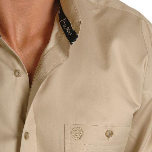 Wrangler George Strait Shirt, Tan, hi-res