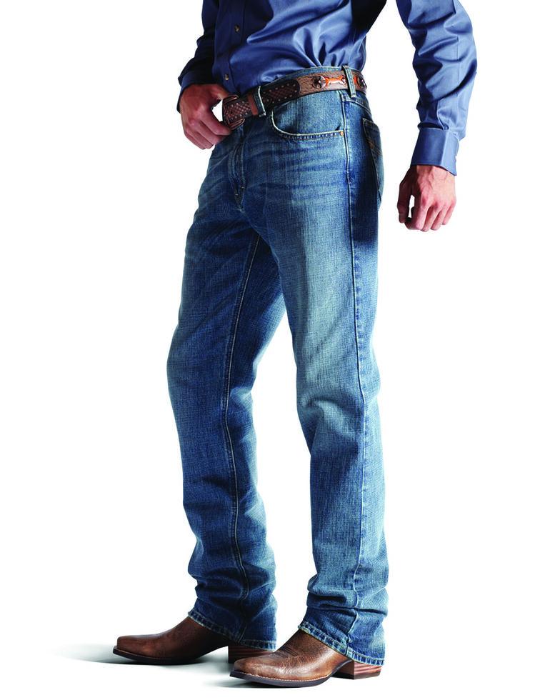 Ariat Denim Jeans - M2 Granite Wash Relaxed Fit, Granite, hi-res