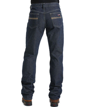 Cinch Men's Dark Blue White Label Carter WRX FR Jeans - Straight Leg , Blue, hi-res