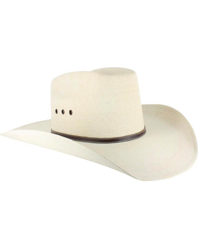 Atwood Men s 7X Kaycee Palm Leaf Straw Cowboy Hat  0bcae215943c