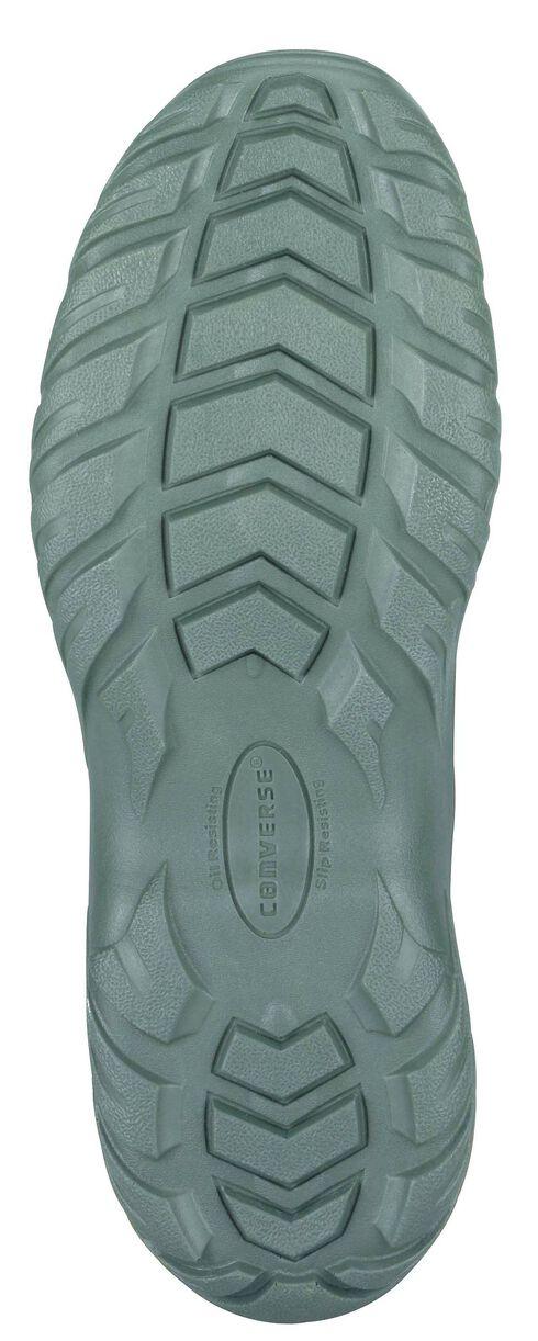 "Reebok Men's 8"" Lace-Up Side Zip Tactical Work Boots - Steel Toe, Sage, hi-res"