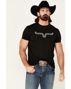 Kimes Ranch Men's Black Outlier Tech Short Sleeve T-Shirt , Black, hi-res