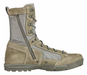 5.11 Tactical Men's Skyweight Side-Zip Suede Boots, Sage, hi-res