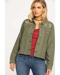Ariat Women's Lulu Jacket, Olive, hi-res