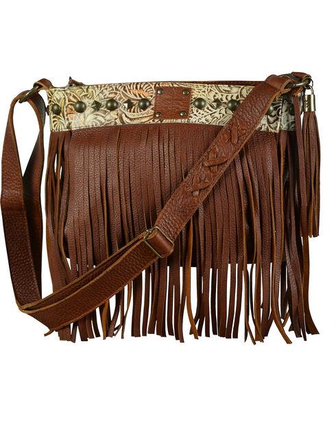 STS Ranchwear Lila Crossbody Bag, Saddle Brown, hi-res