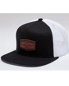 Kimes Ranch Men's Black Rays Premium Mesh-Back Ball Cap , Black, hi-res