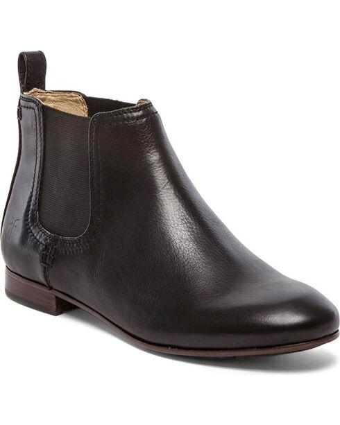 Frye Women's Jillian Chelsea Shoes - Round Toe, Black, hi-res
