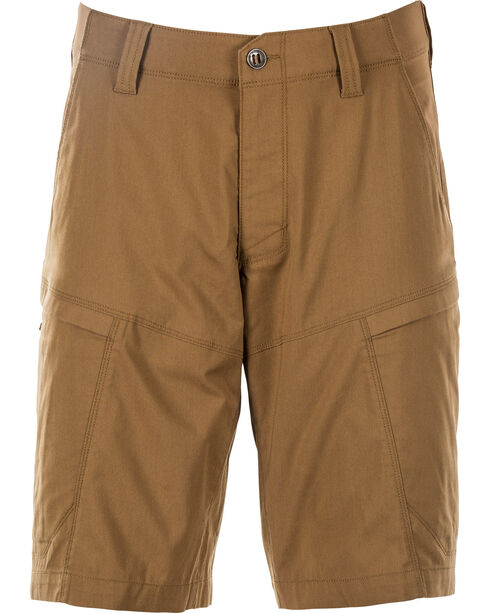 5.11 Tactical Men's Apex Shorts , Brown, hi-res