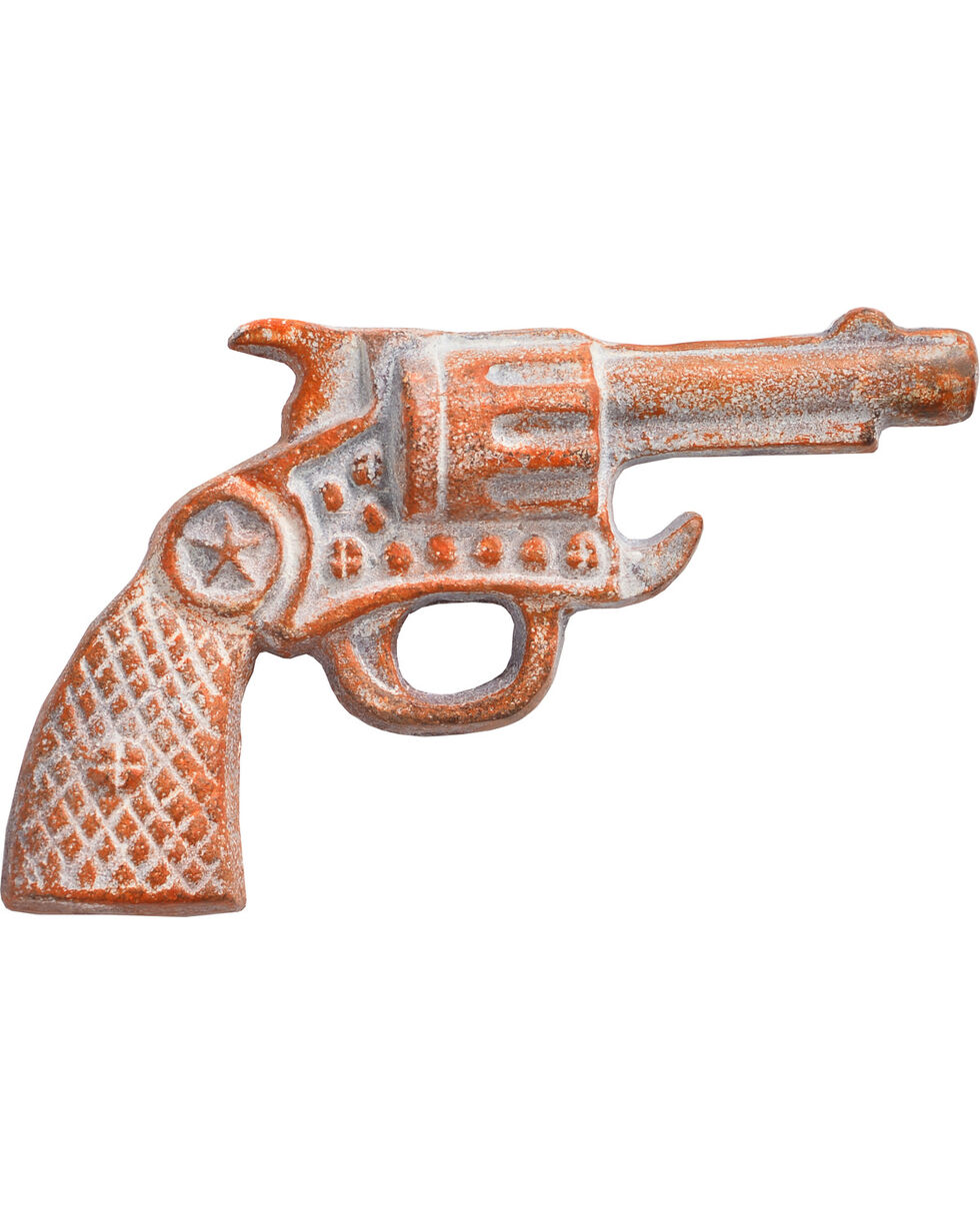 BB Ranch Cast Iron Revolver Bottle Opener, Multi, hi-res