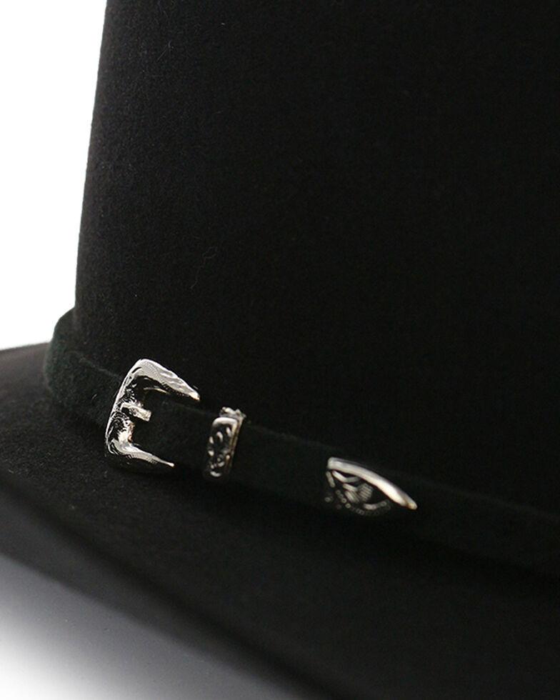 e1ed1657 Zoomed Image Rodeo King Men's Brick 5X Felt Cowboy Hat, Black, hi-res