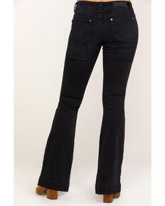 Rock & Roll Cowgirl Women's Black Low Rise Trouser, Black, hi-res