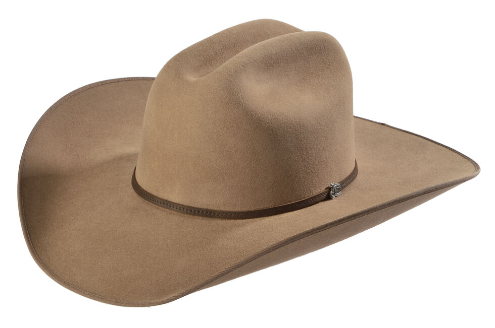 Justin Bent Rail 7X Hooch Pecan Fur Felt Cowboy Hat  9d9076fd72d