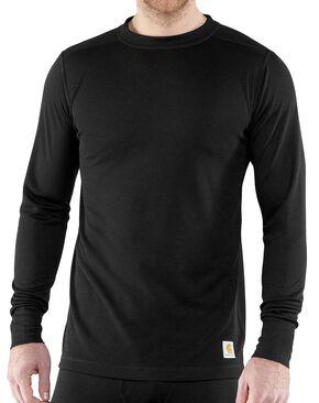 Carhartt Base Force Super-Cold Weather Long Sleeve Shirt - Big & Tall, Black, hi-res
