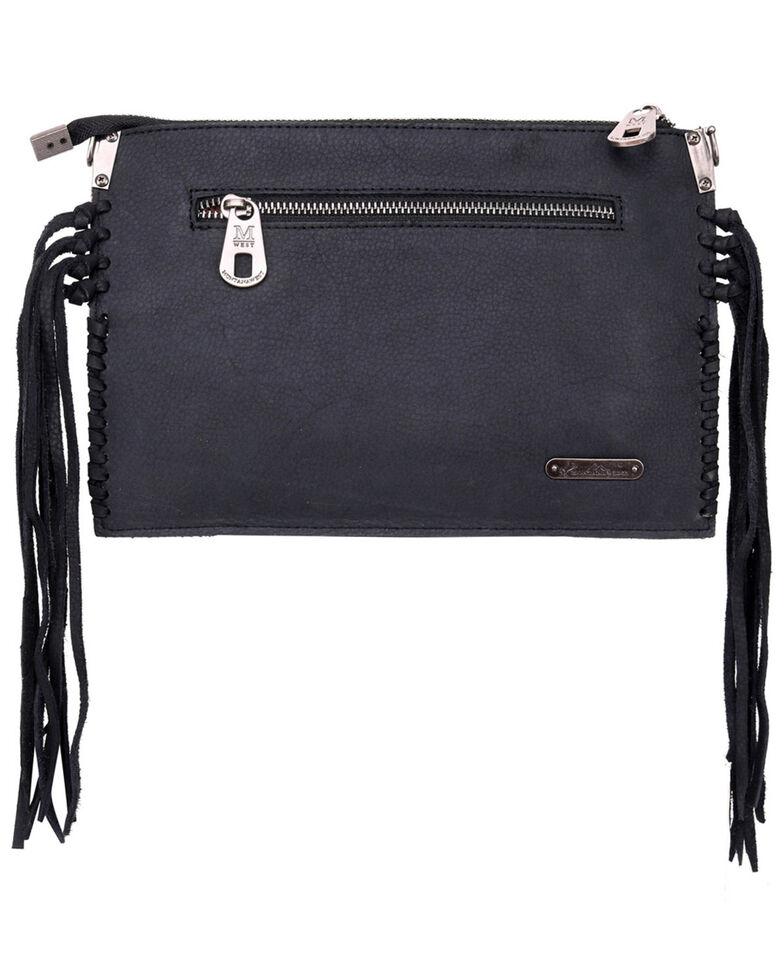 Montana West Hand Tooled Crossbody Bag, Black, hi-res