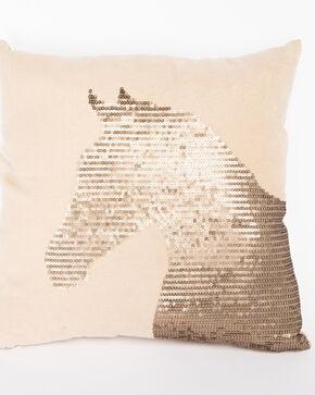 BB Ranch Sequin Horse Pillow, Multi, hi-res
