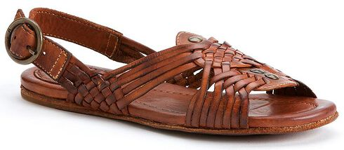 Frye Women's Jacey Huarache Shoes, Cognac, hi-res