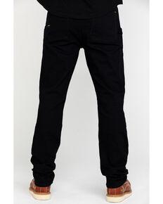 Ariat Men's Black Rebar M4 Made Tough Durastretch Double Front Straight Work Pants - Big, Black, hi-res