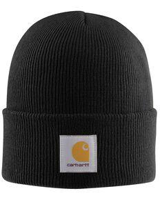 Carhartt Acrylic Black Watch Hat, Black, hi-res