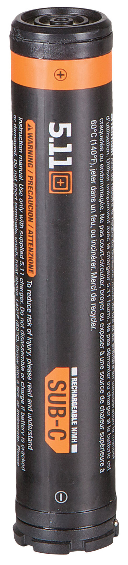 5.11 Tactical TPT R5 NIMH Sub-C Rechargeable Battery, Black, hi-res