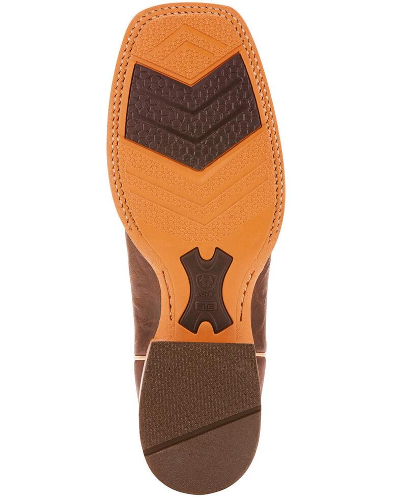 Ariat Men's Brown Arena Rebound Boots - Square Toe , Brown, hi-res