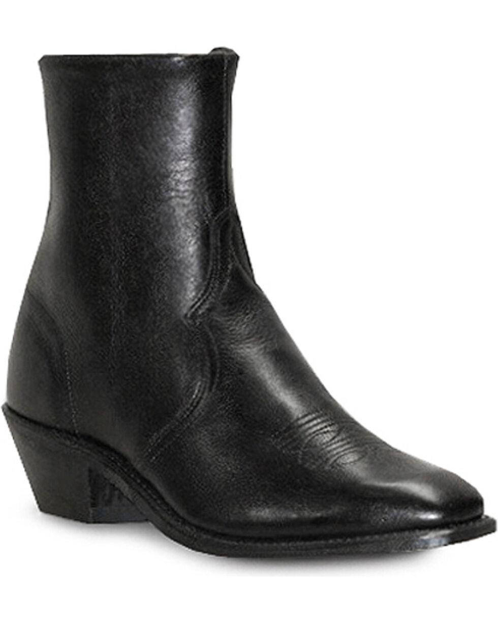 Abilene Men's Zipper Cowhide Western Boots - Narrow Square Toe , , hi-res