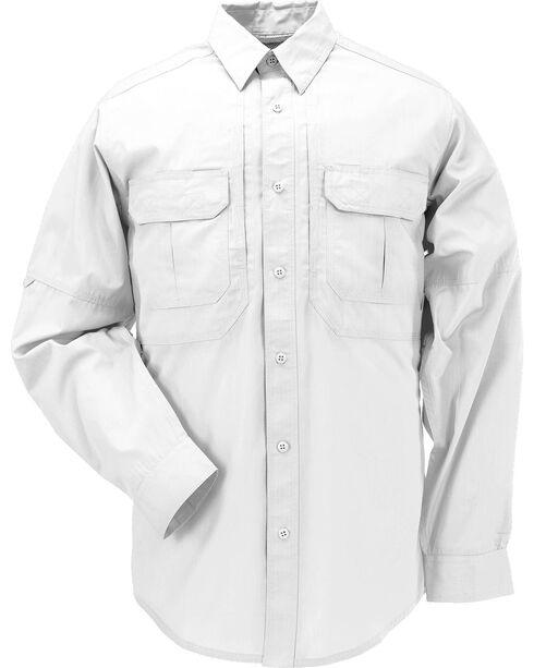 5.11 Tactical Taclite Pro Long Sleeve Shirt, White, hi-res