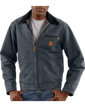 Carhartt Sandstone Detroit Work Jacket, Grey, hi-res