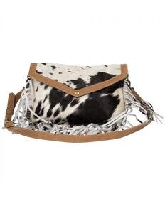 Myra Bag Women's Cowhide Crossbody, Brown, hi-res