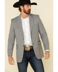 Circle S Men's Grey Lubbock Western Sportcoat - Long , Grey, hi-res