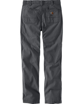 Carhartt Men's Rugged Flex Rigby Straight-Fit Pants - Straight Leg , Charcoal, hi-res