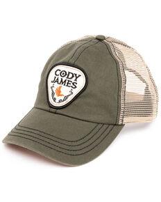 Cody James Men's Olive Pick Patch Mesh Ball Cap , Olive, hi-res