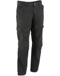 "Milwaukee Performance Men's 34"" Aramid Reinforced Black Cargo Jeans, Black, hi-res"