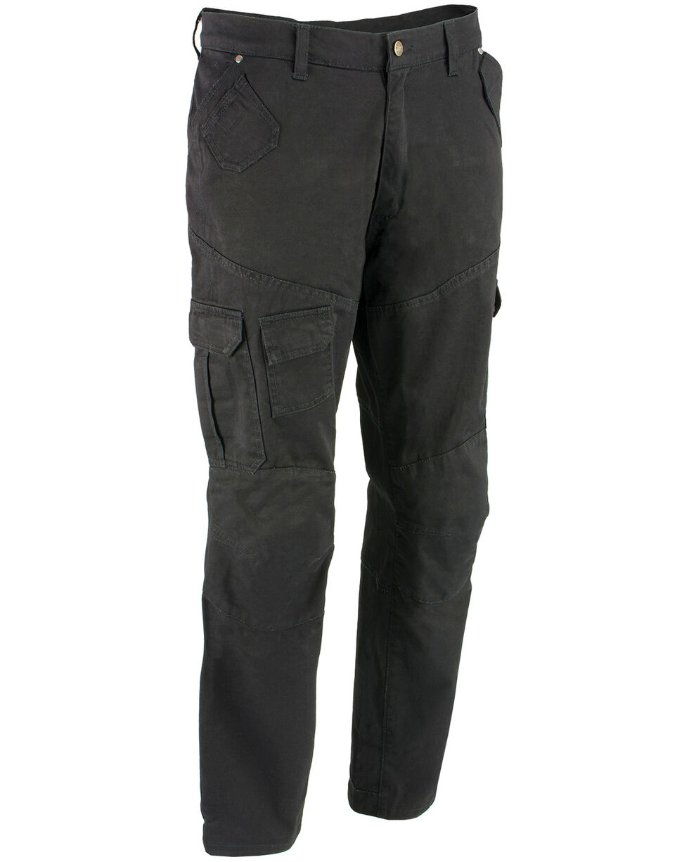 "Milwaukee Performance Men's 34"" Aramid Reinforced Black Cargo Jeans - XBig, , hi-res"