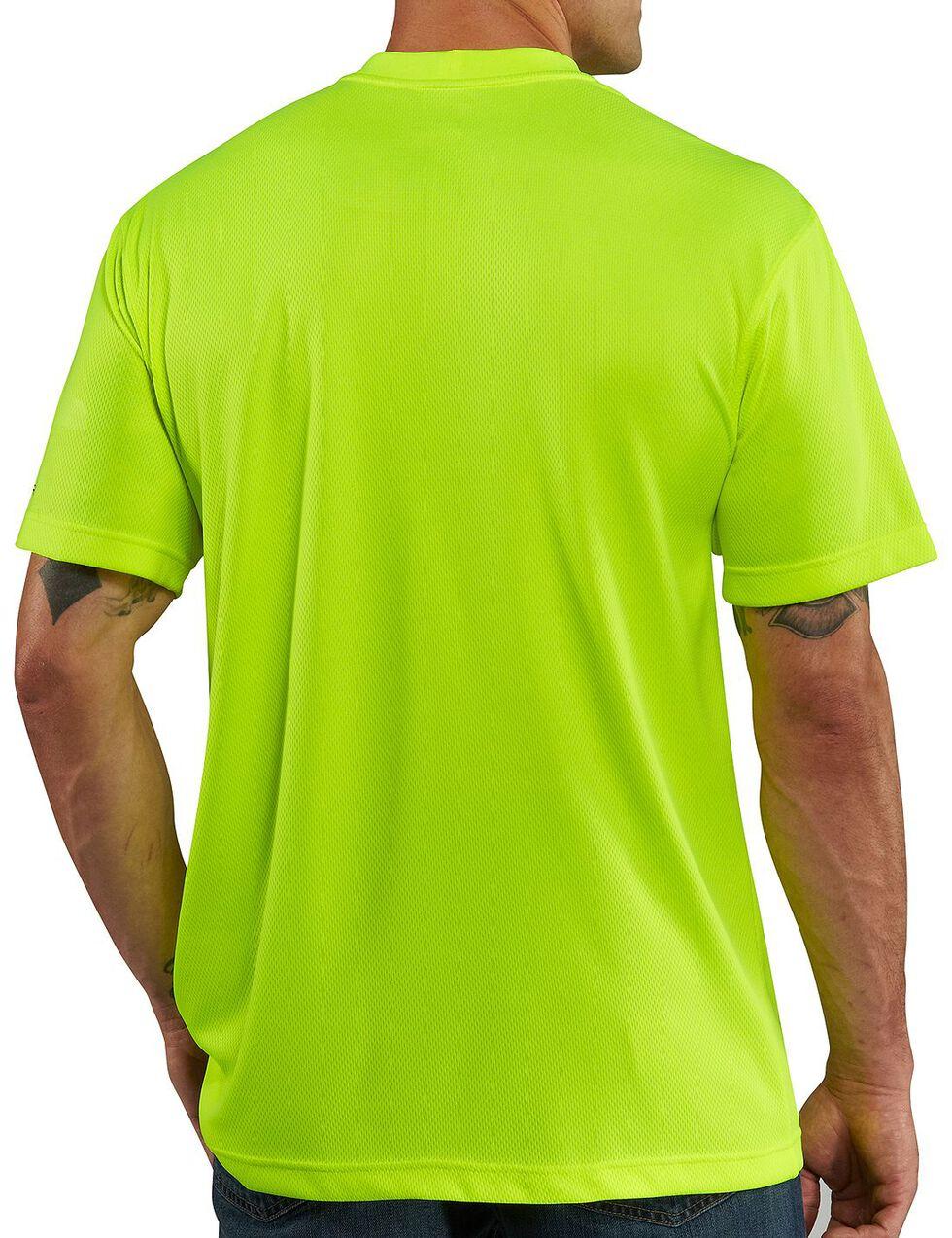 Carhartt Force Color-Enhanced T-Shirt, Lime, hi-res