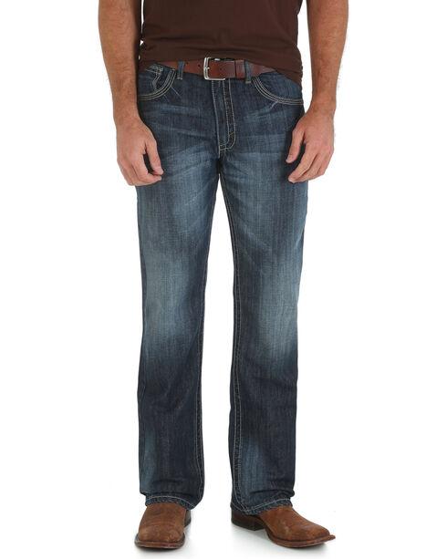 Wrangler 20X Bristow 42 Vintage Bootcut Jeans - Slim Fit - Big and Tall, Denim, hi-res