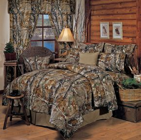 Realtree All Purpose Queen Comforter Set, Camouflage, hi-res