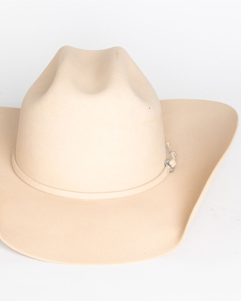 Cody James Men's 5X Silver Belly Felt Western Hat, Silverbelly, hi-res