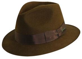 Indiana Jones Pinch Front Wool Felt Fedora Hat 7fd04249e1b5