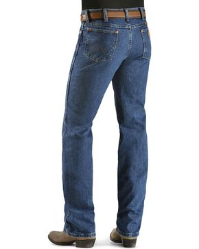 "Wrangler 936 Cowboy Cut Slim Fit Prewashed Jeans - 38"" Inseam, Dark Stone, hi-res"