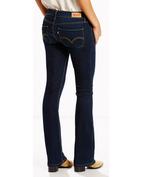 Levi's Women's 524 Northpeak Jeans - Boot Cut , Indigo, hi-res