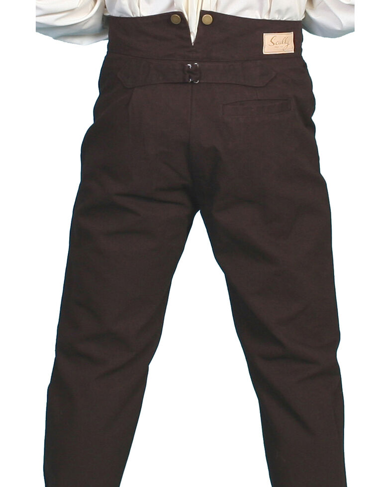 Rangewear by Scully Canvas Pants, Walnut, hi-res