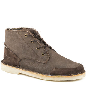 Roper Men's Brown Everett Casual Lace-Up Boots, Brown, hi-res