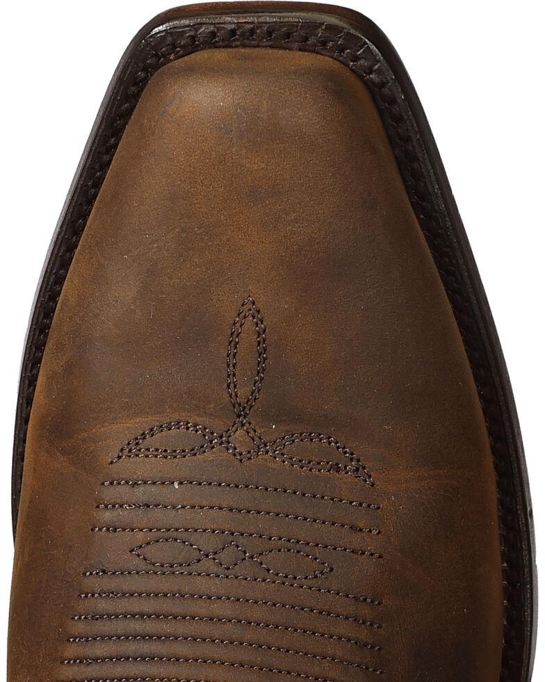 El Dorado Men's Handmade Tan Oiled Roper Boots - Snip Toe, Tan, hi-res